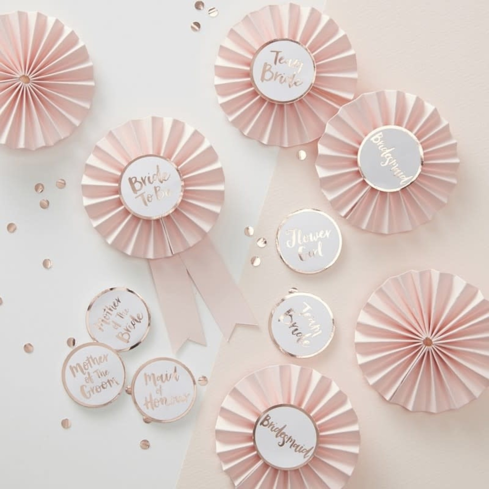 Team Bride Badges - Kit