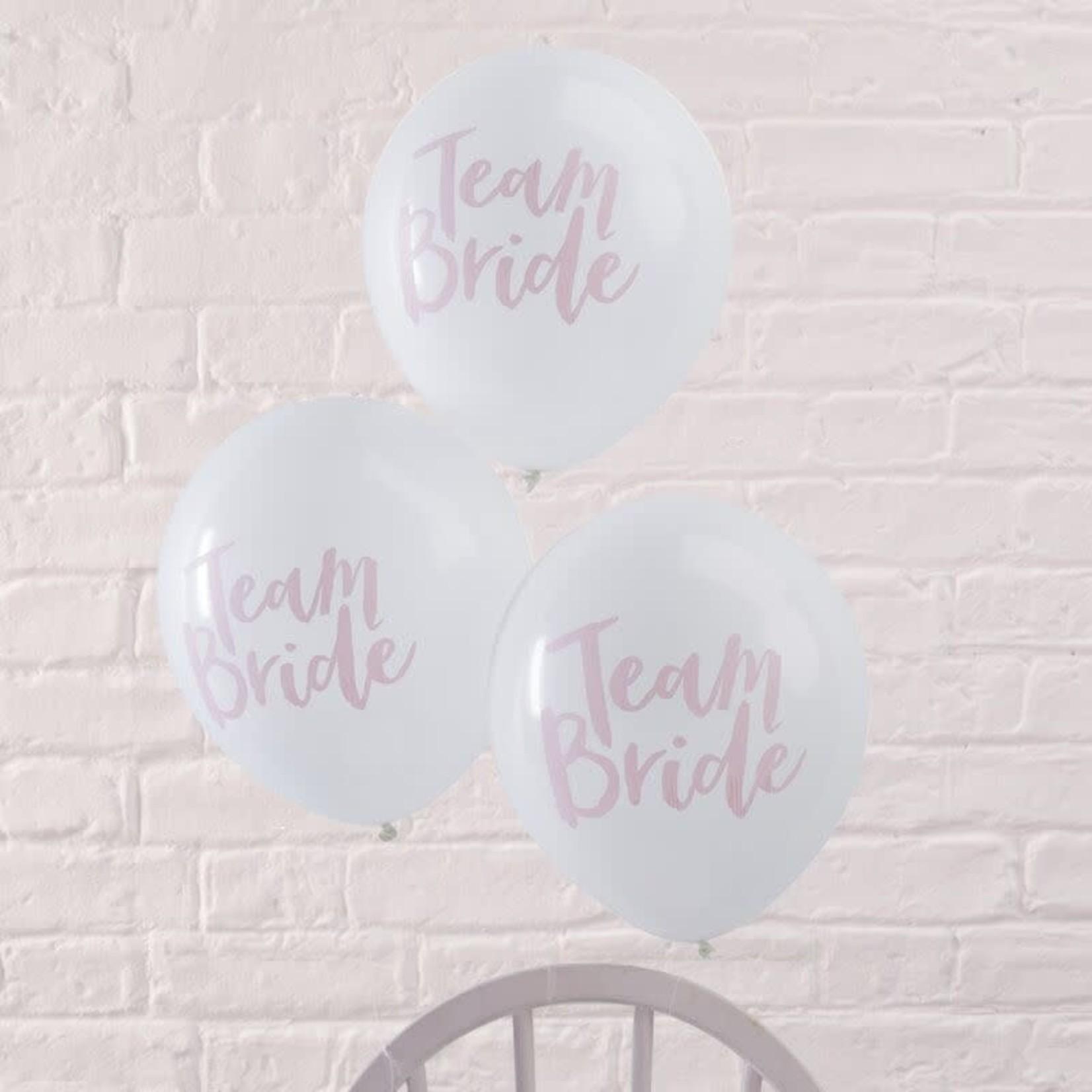 Team Bride  - Balloons