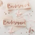 Bridesmaid Sash - 2 Pack