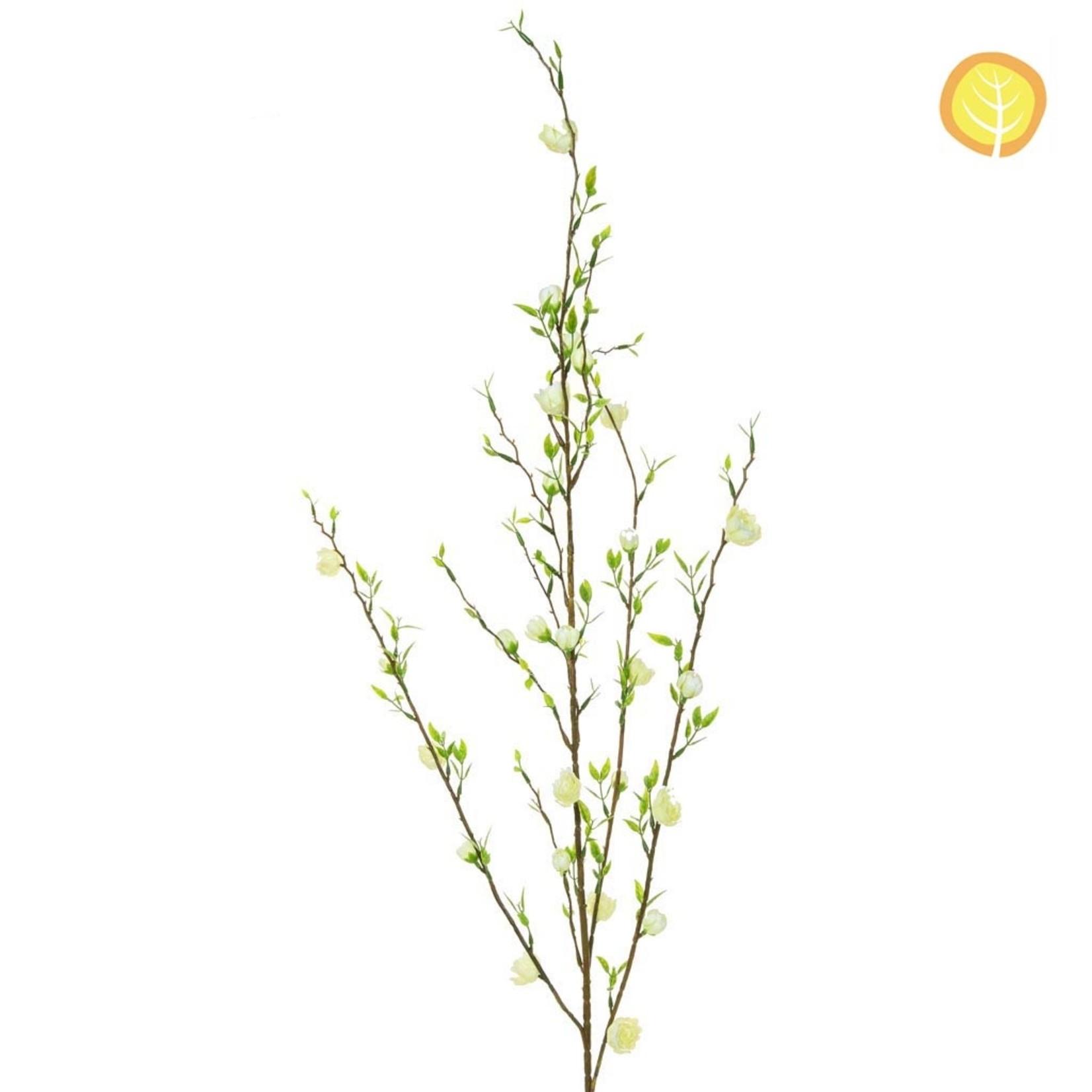 Foliage Flw Cherry Blms YF Crm 92.5cm UV