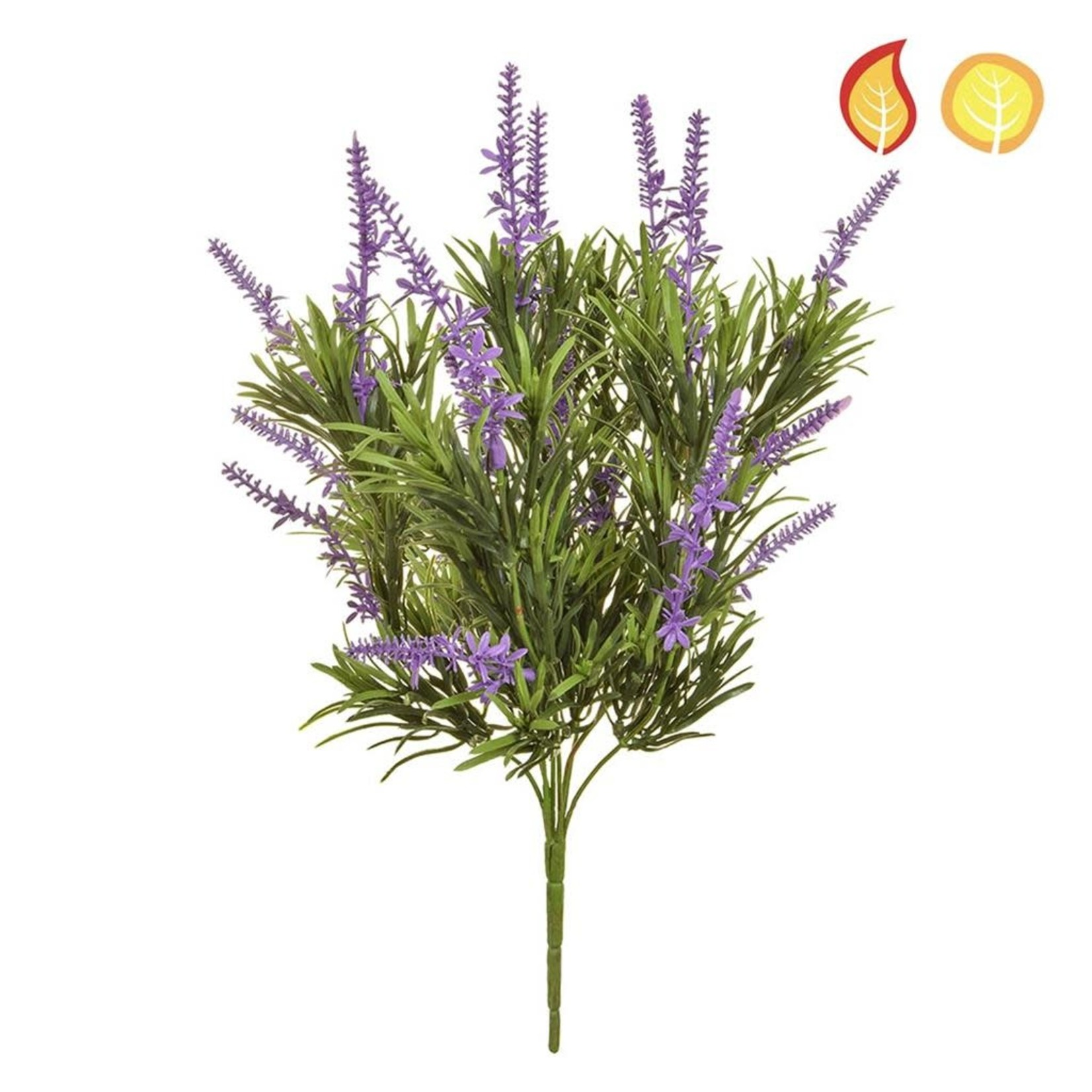 Plants Lavender Blue PI 46cm - UV Resistant & Fire Rated