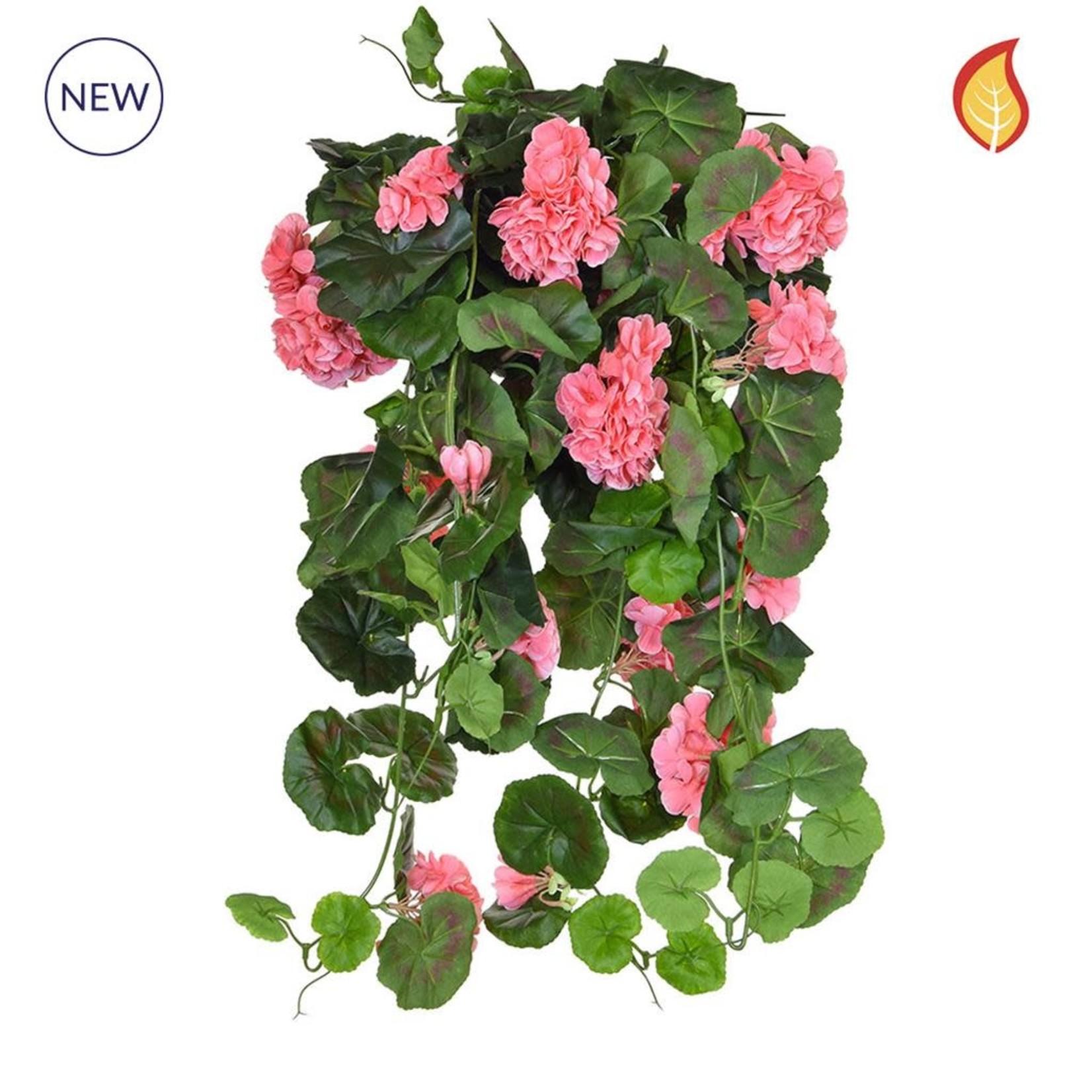 I & T Geranium Vine Pink DB 73cm - Fire Rated