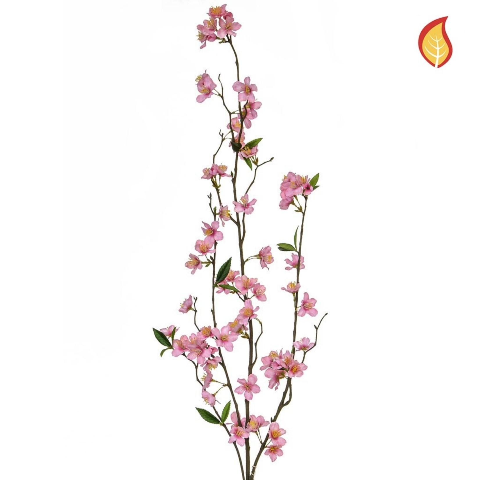 Foliage Flw Cherry Blsm DB Pink 118cm FR