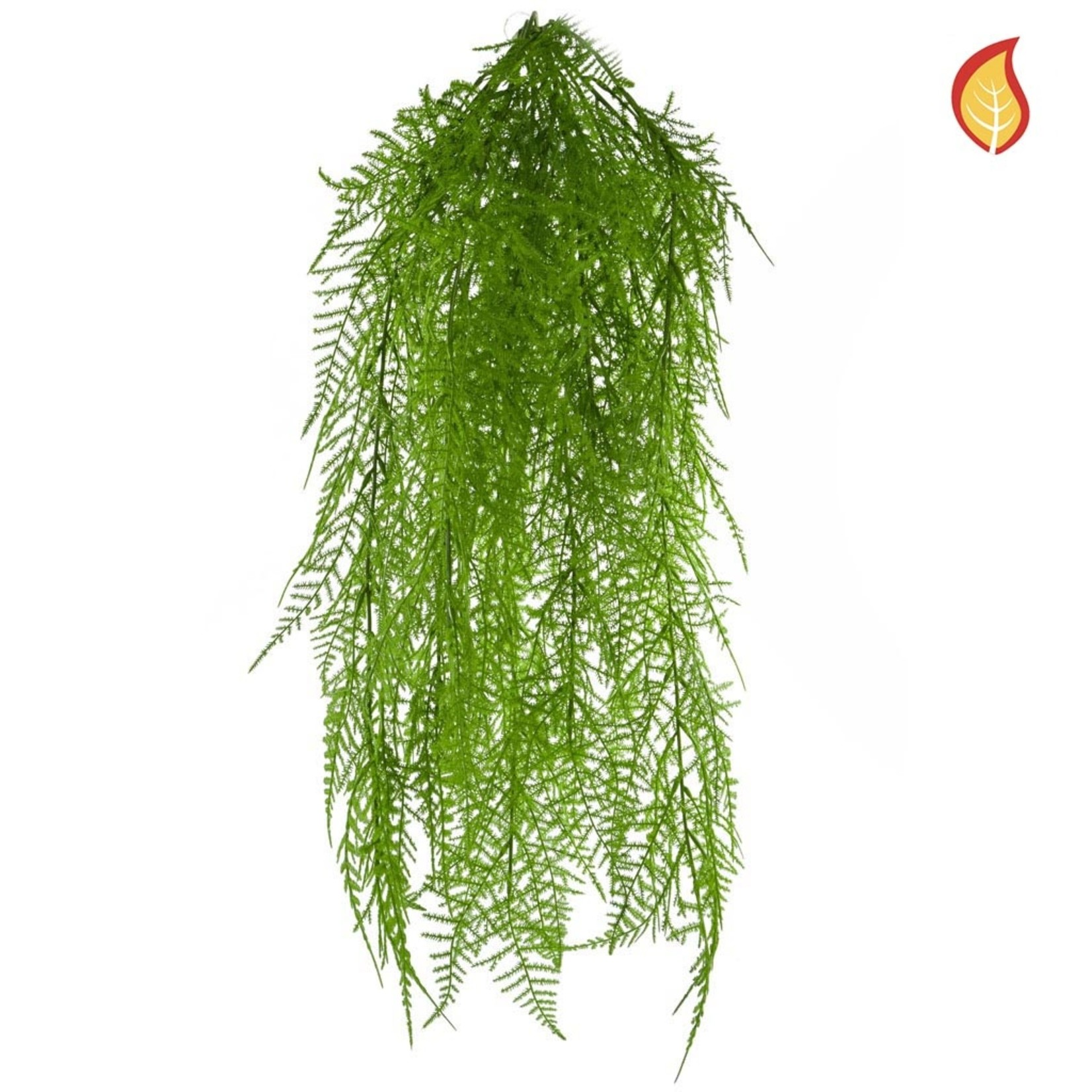 I & T Fern Hanging Green FY 68cm - Fire Rated