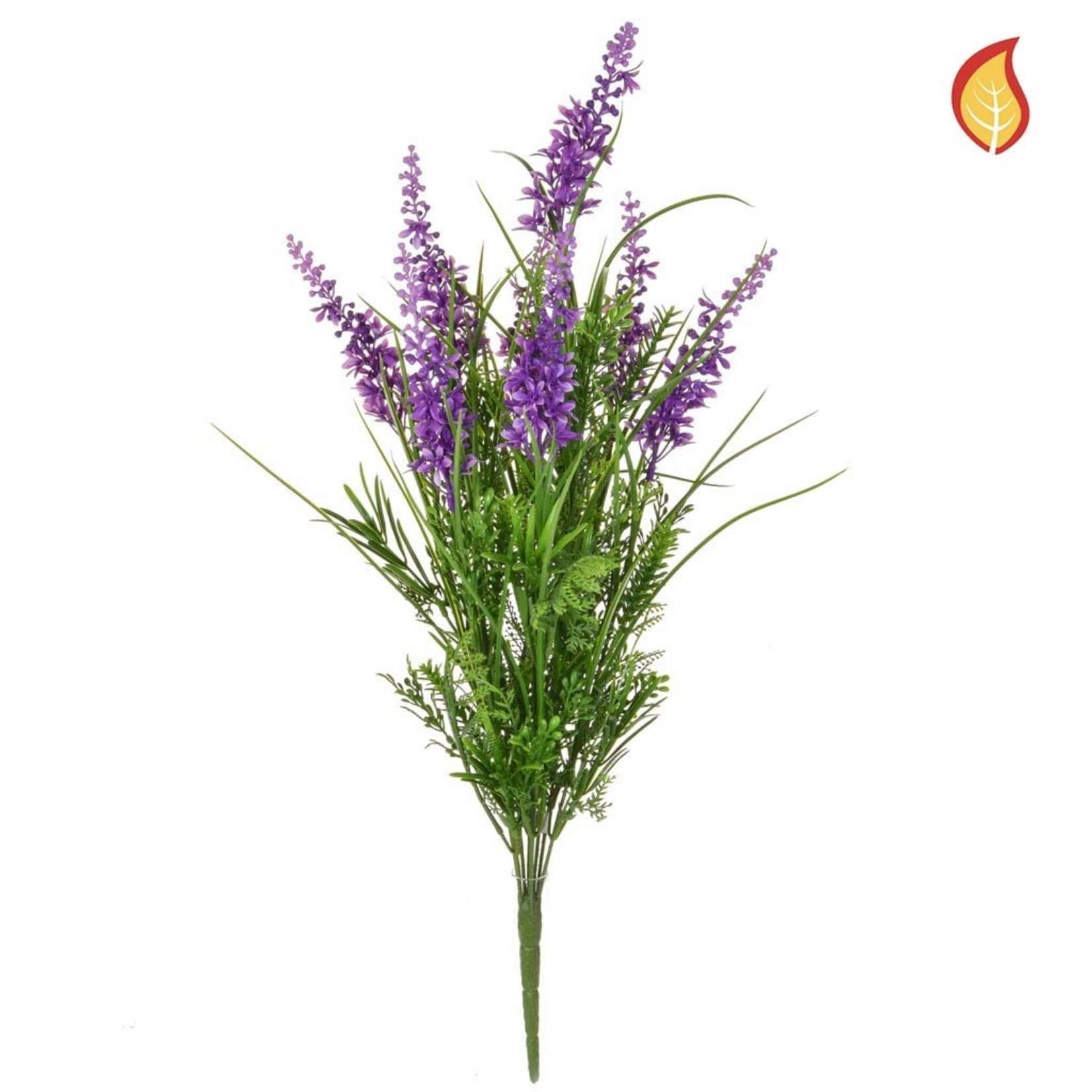 Grass Mix with Purple FY 44cm - Fire Rated