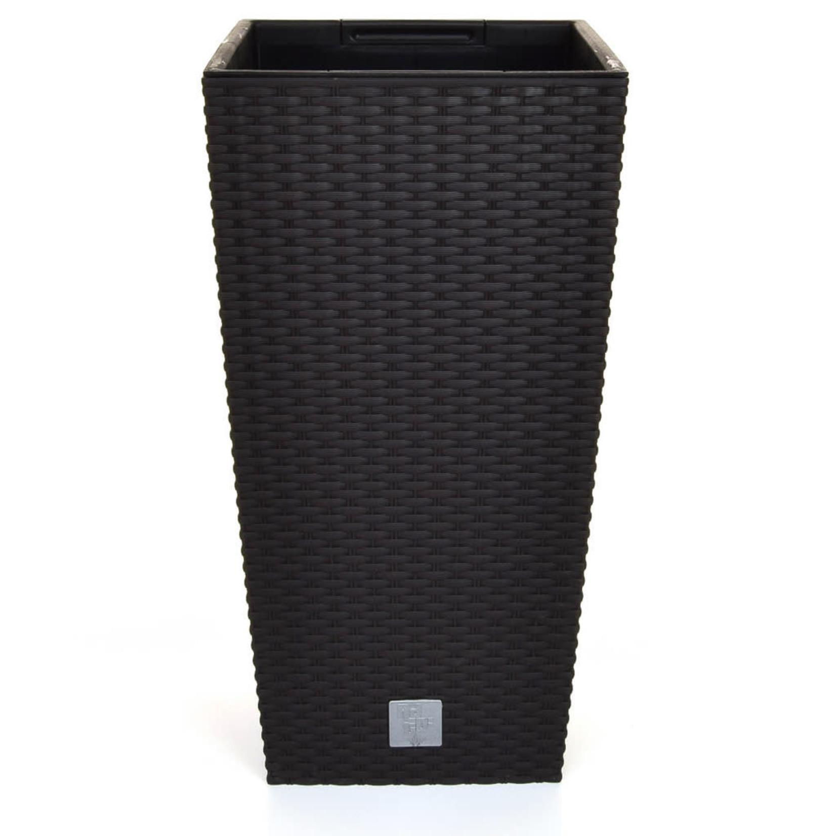 V-Pot Rato Square Black 61x32x32cm