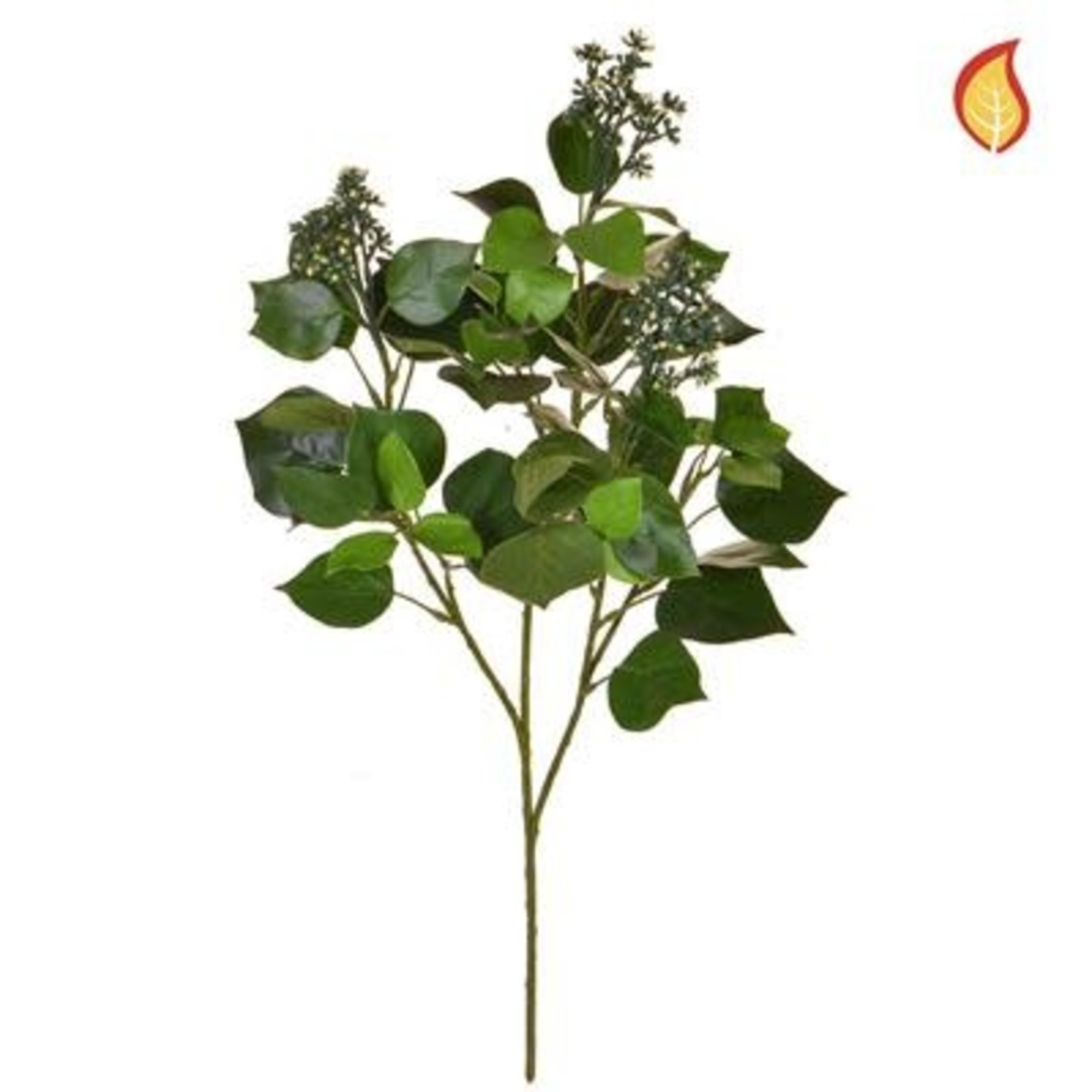 Foliage Hedera Helix Green 61cm - Fire Rated