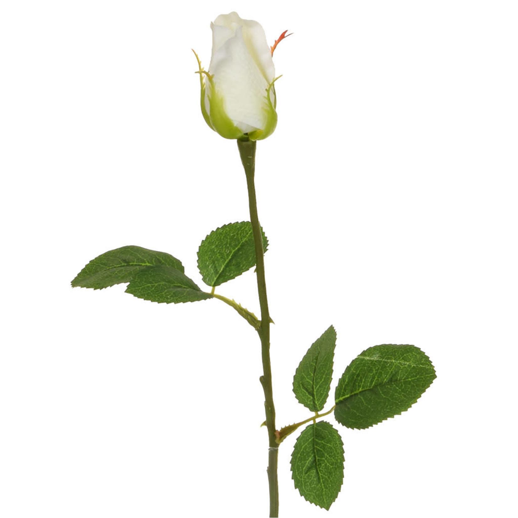 SF Real Touch Rose White DJJ 49cm