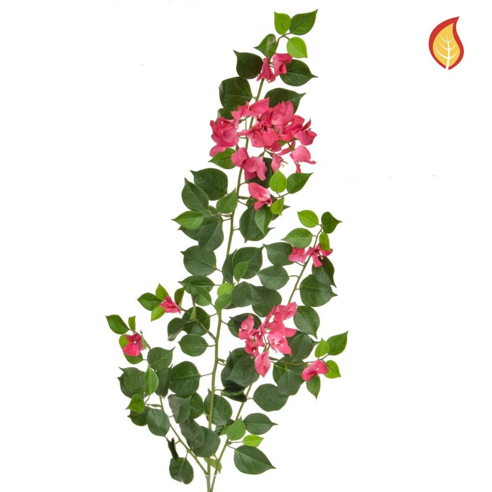 Foliage Bougainvillea Pink/White 83cm - Fire Rated