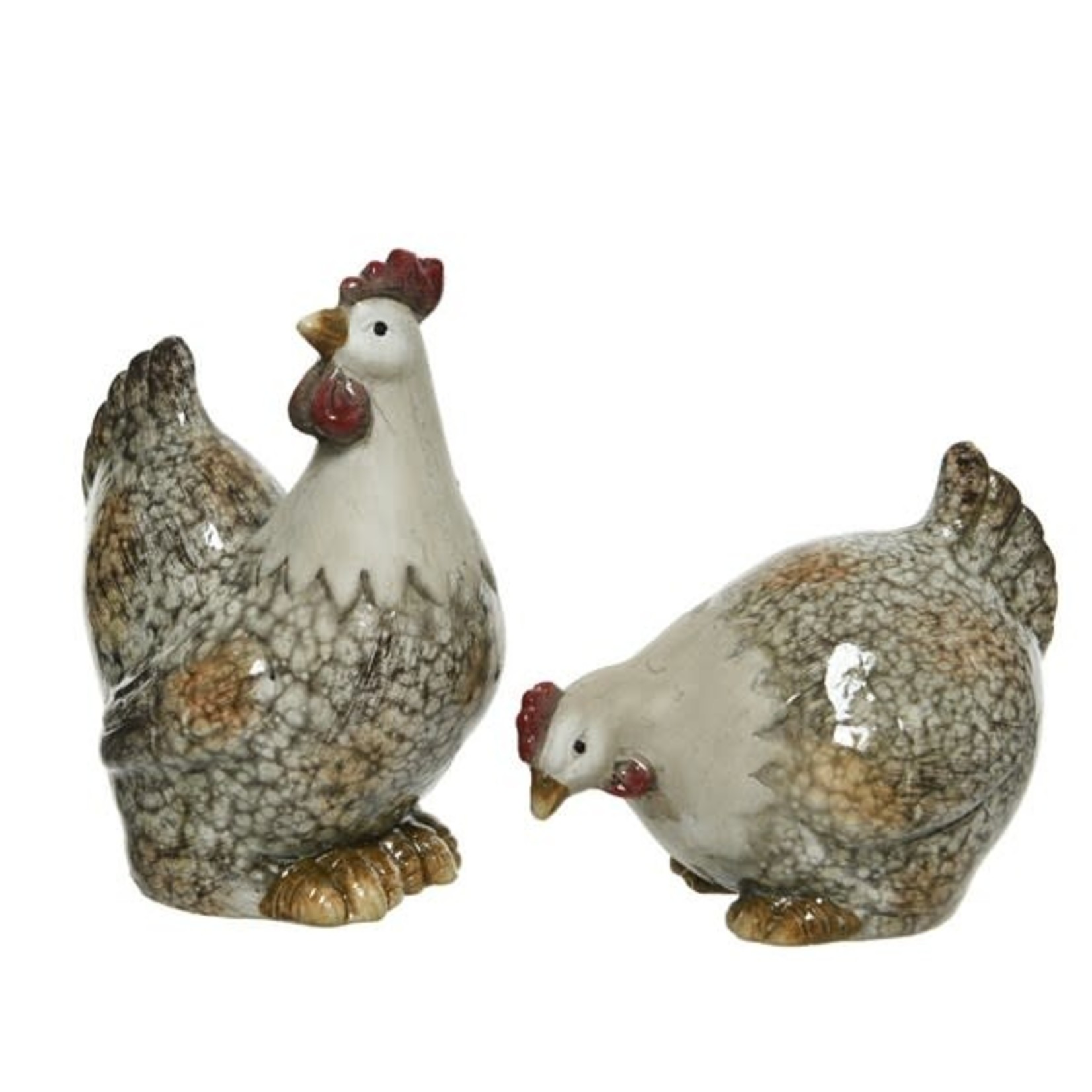 Rooster terracotta Large