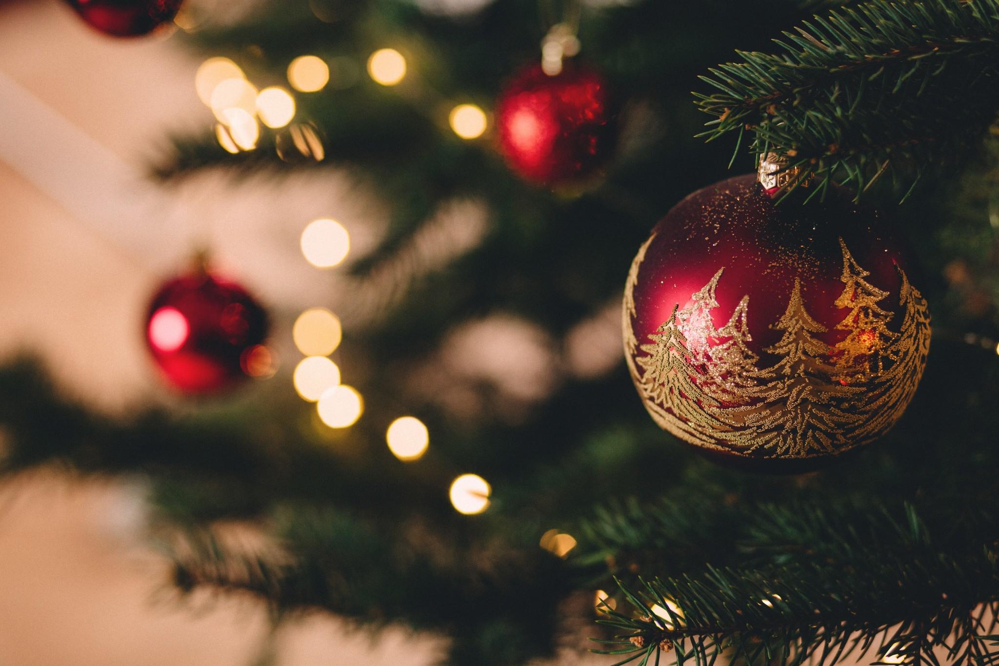 Kunststof kerstballen