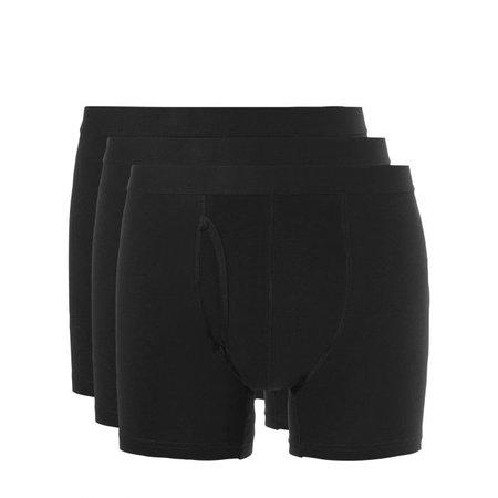 Ten Cate Heren Boxershort - 3-Pack - Zwart