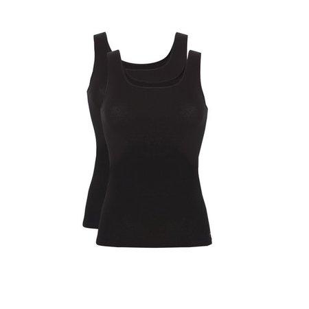 Ten Cate Dames Hemd 2-Pack - Zwart