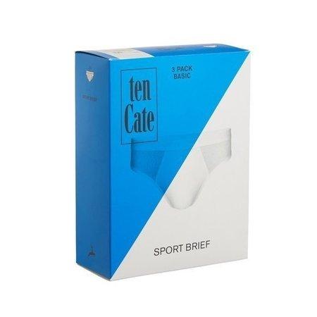 Ten Cate Heren Slip 3-Pack - Wit
