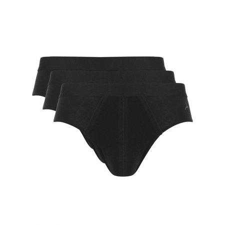 Ten Cate Heren Slip  3-Pack - Zwart