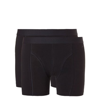 Ten Cate Heren Short 2-Pack - Zwart