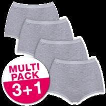 Sloggi Dames Basic+ Maxi voordeelpakket Grijs