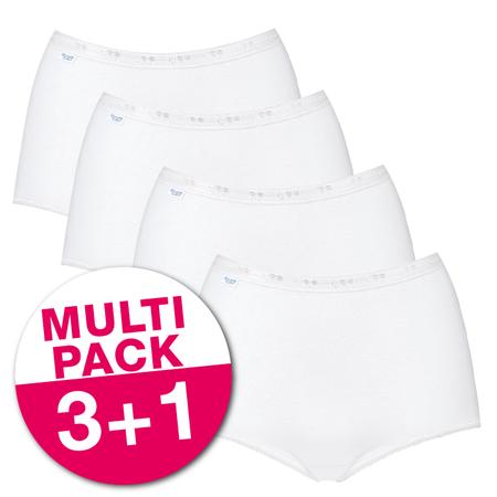 Sloggi Dames Basic+ Maxi voordeelpakket Wit