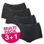Sloggi Dames Basic+ Maxi voordeelpakket Zwart