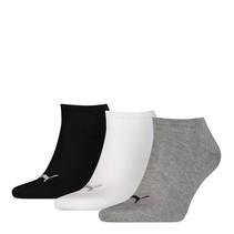 Puma Unisex Sneaker Plain 3-Pack