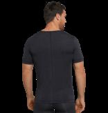 Schiesser Heren Shirt Korte Mouwen V-hals nachtblauw- Personal Fit