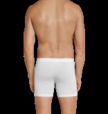 Schiesser Heren Cyclist- Short Wit - Long Life Cotton