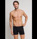 Schiesser Heren Short Met Gulp 2-pack Zwart - Authentic