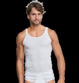 Schiesser Heren Hemd Wit - Original Feinripp