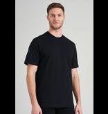 Schiesser Heren T-Shirt Zwart - American T-shirt