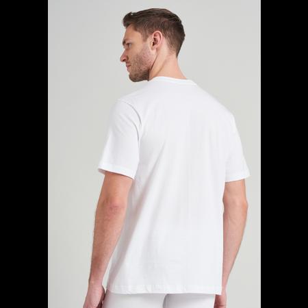 Schiesser Heren T-Shirt Wit - American T-shirt