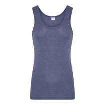 Beeren Heren M55 Hemd Denim blauw