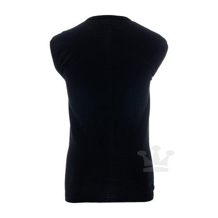 HL Shirt Zonder Mouw Zwart