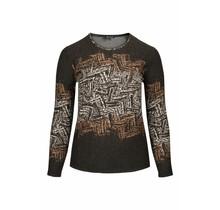 Shirt Gabriella K antraciet