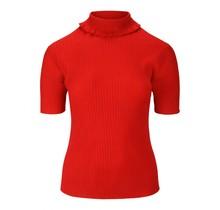 Shirt met col rood Micha