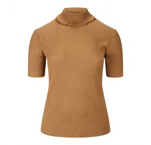 Shirt met col cognac Micha