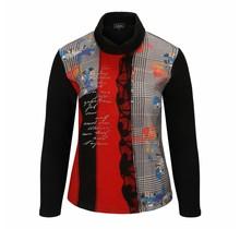 Shirt Leona per donna rood