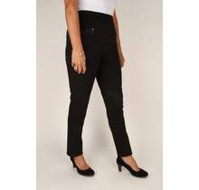 Stretch broek Micha zwart