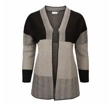 Vest Germaine grijs / zwart