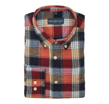 Overhemd Meantime flanel rood