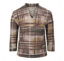 Shirt Marinello bruin