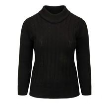 Kabel trui Sensia zwart