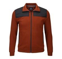 Vest Meantime brique / marineblauw