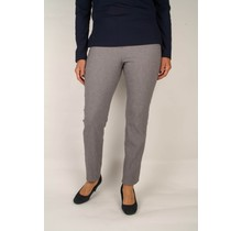 Robell stretch broek grijs gewerkt