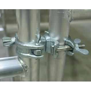 ASC ® Drehkupplung / Gerüstkupplung Stahl für Maueranker