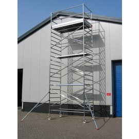 ASC ® Alu-Rollgerüst 135-250 bis 8,30 m, Profi