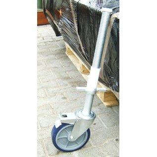 Alu-Rollgerüst 135-250 bis 8,30 m, Profi-Gerüst nach DIN-EN 1004 & 1298