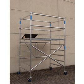 AC Steigtechnik Zimmerfahrgerüst XL, ZiFa, 3,85 m, extra große Arbeitsfläche