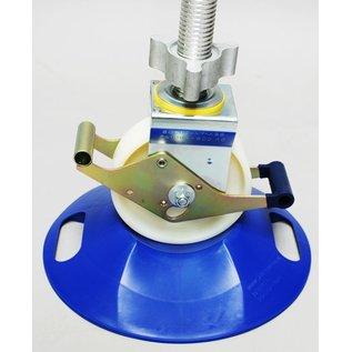 ASC ® Unterlegplatten für Gerüstrollen, Set 4 stück
