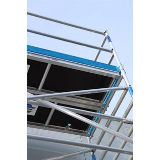 Alu-Rollgerüst 135-250 bis 5,30 m, Profi-Gerüst nach DIN-EN 1004 & 1298