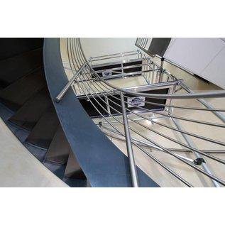 ASC ® ASC Treppenhaus-Gerüst, Treppen-Gerüst 4,10 bis 6,10 m, erweiterbar